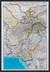 Afganistan, Pakistan Classic mapa ścienna polityczna na podkładzie do wpinania 1:3 363 300 - brak