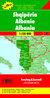ALBANIA MAPA 1:150 000 - Opracowanie Zbiorowe