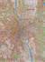 Warszawa mapa ścienna administracyjno-drogowa na podkładzie do wpinania 1:26 000 - brak