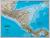 Ameryka Centralna Classic mapa ścienna polityczna arkusz papierowy 1:2 541 000 - brak