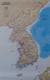 Półwysep Koreański Classic mapa ścienna polityczna arkusz papierowy 1:1 357 000 - brak
